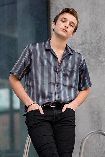 Stripe Casual Wear